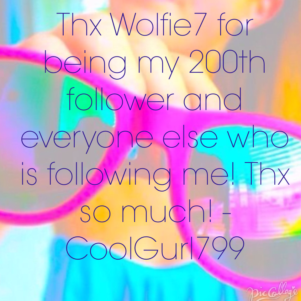Thx Wolfie7