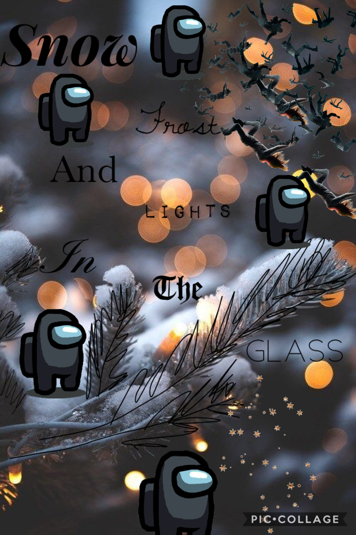 """Tap Hey all!!! This is my first collage on my new iphone 7!(so ill prob get phonto soon!!!) I decided to make a """"Christmas"""" collage with an Among us twist because im addicted to that game haha QOTD:do you like among us? ADOT:Adicted to it  Please rate 1-1"""