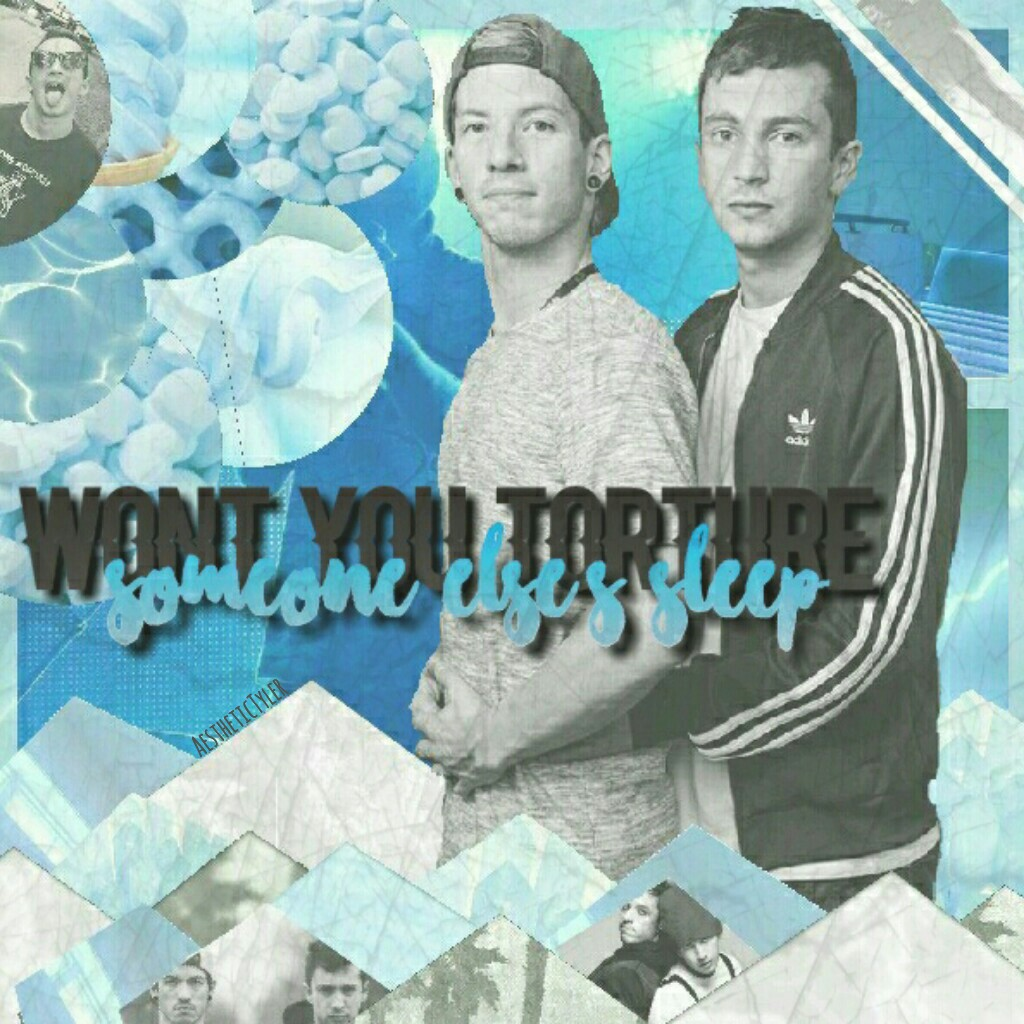 """*CLICKY-CLICK THIS* Comment tips or fonts for edits like this if you have any, please. :) Love you Tyler and Josh. <3 """"Stay alive, it's worth it, I promise."""" -Tyler Joseph."""