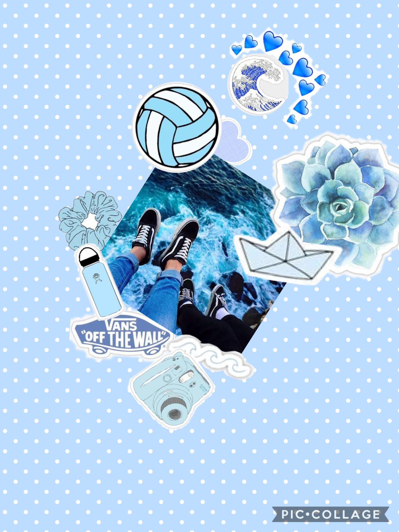 Tap  Blue aesthetics 💙💙💙