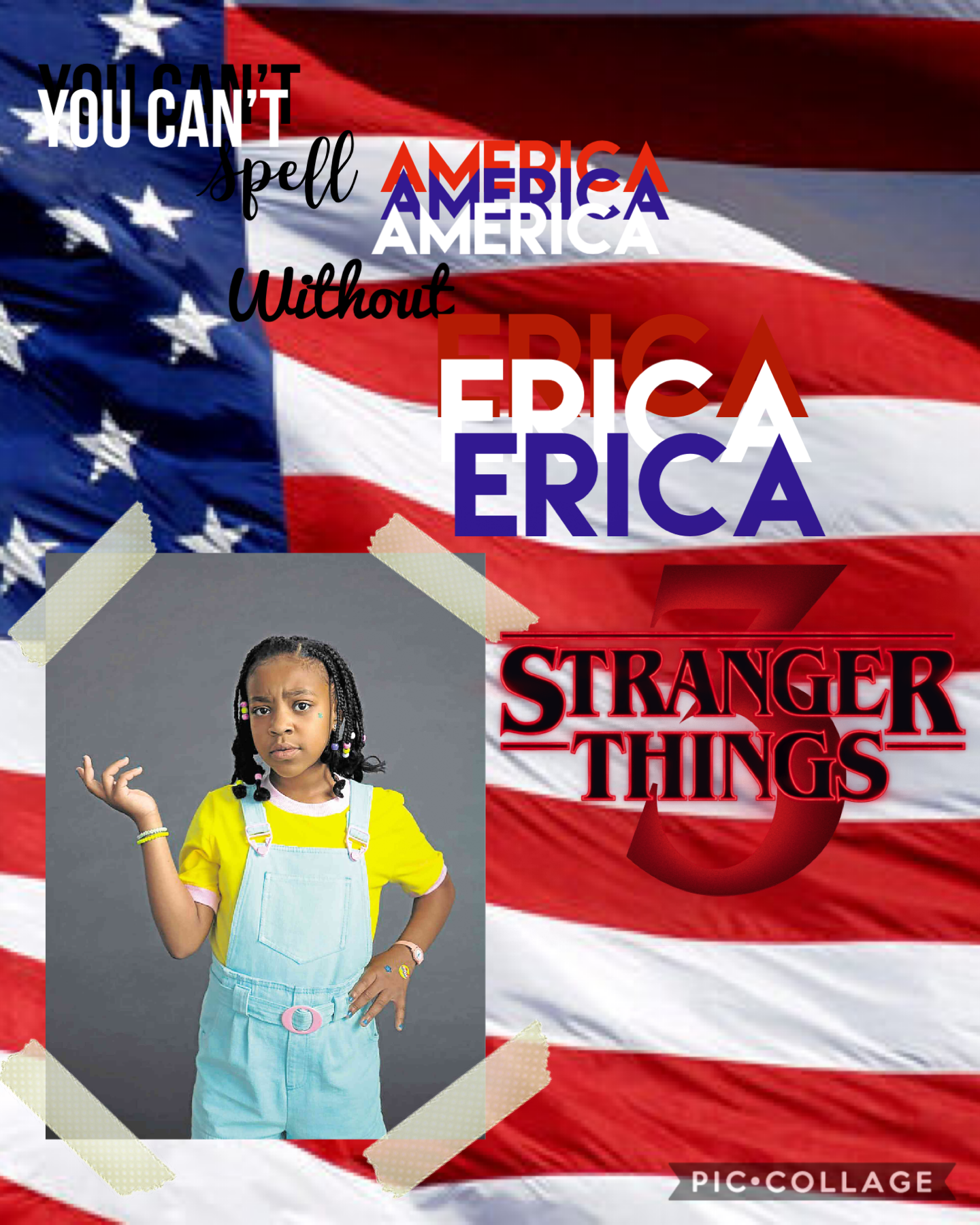 You can't spell America without Erica🇺🇸