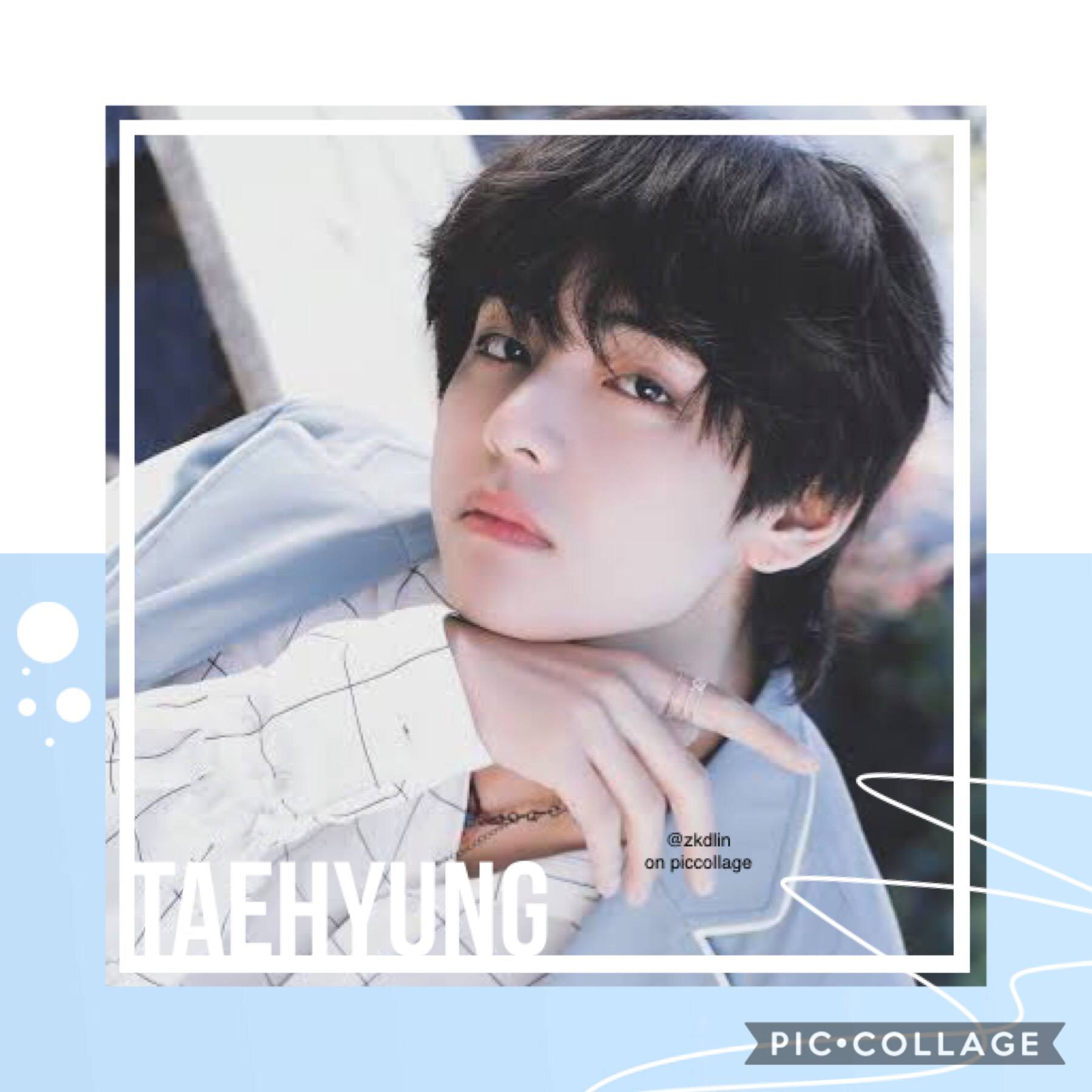 """☁️taehyung (tap) requested by @-magicshop  i have no inspo skskd and piccollage deleted all my edits- (not on my acc tho, on the """"collages"""" thing)  :(("""