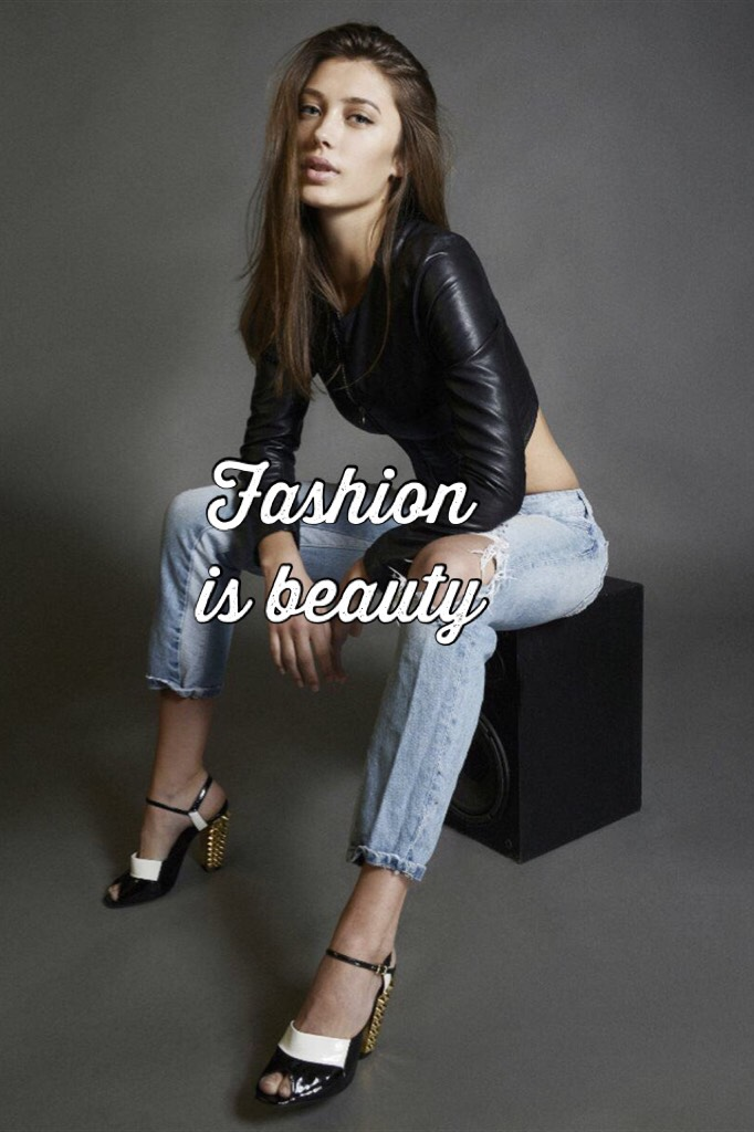 Fashion is beauty
