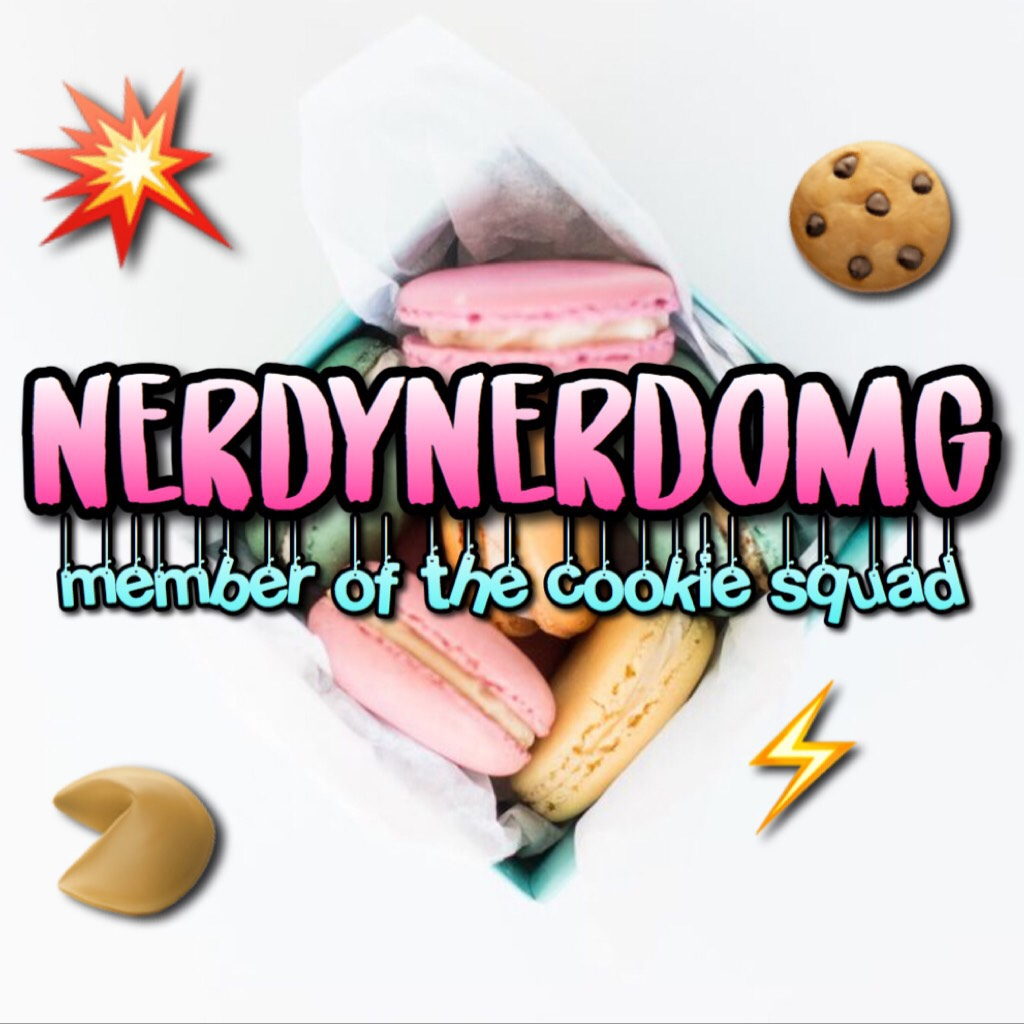 🥠welcome @NerdyNerdOMG!🥠