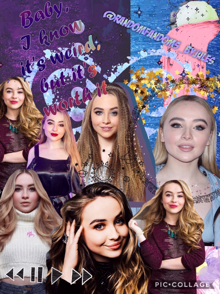 Last Sabrina edit! Who do you want next, comment down below👇🏼👇🏼💞
