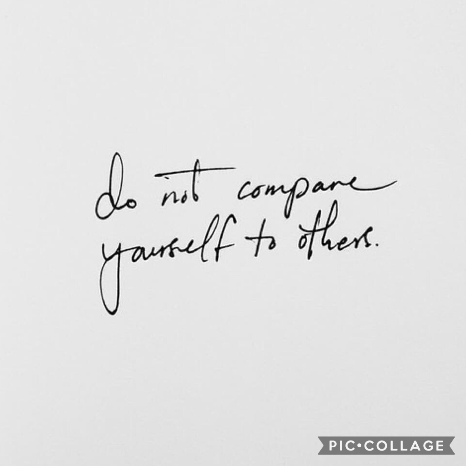 Reposted from @falling-petals-extras💫everyone is unique and beautiful, please don't compare yourself to others. It never really ends well💛You're spectacular and you've come this far and you can keep going💪I believe in you🌼