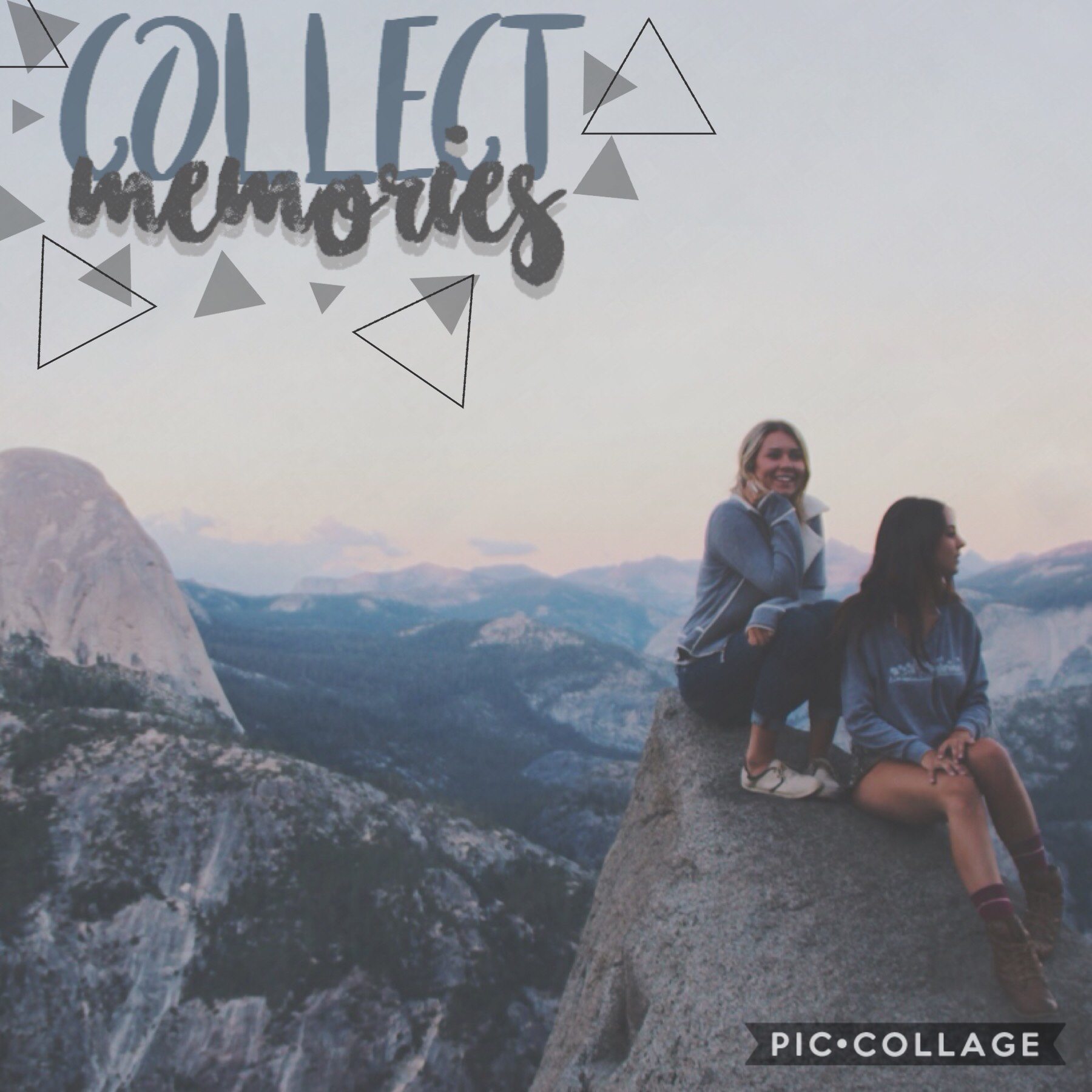 >collect memories<