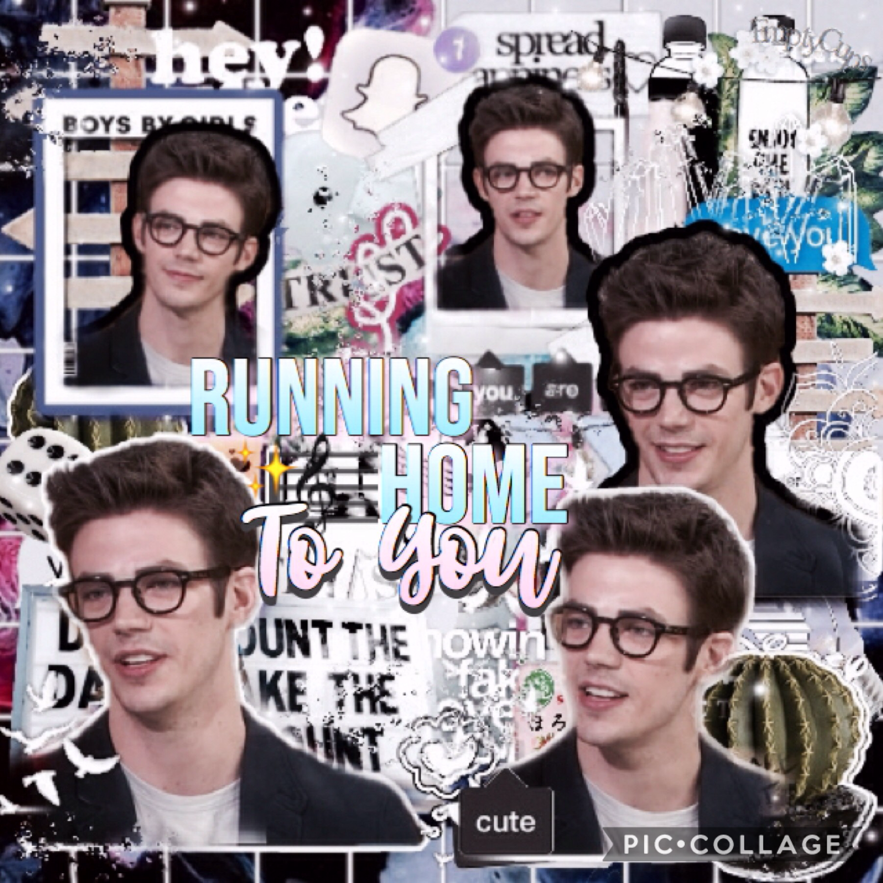 Entry to ThroughItAll's Singer Games Click Please check comments! For my best friend~Joy 💞 Song OTC: Running Home To You ✨ Artist: Grant Gustin