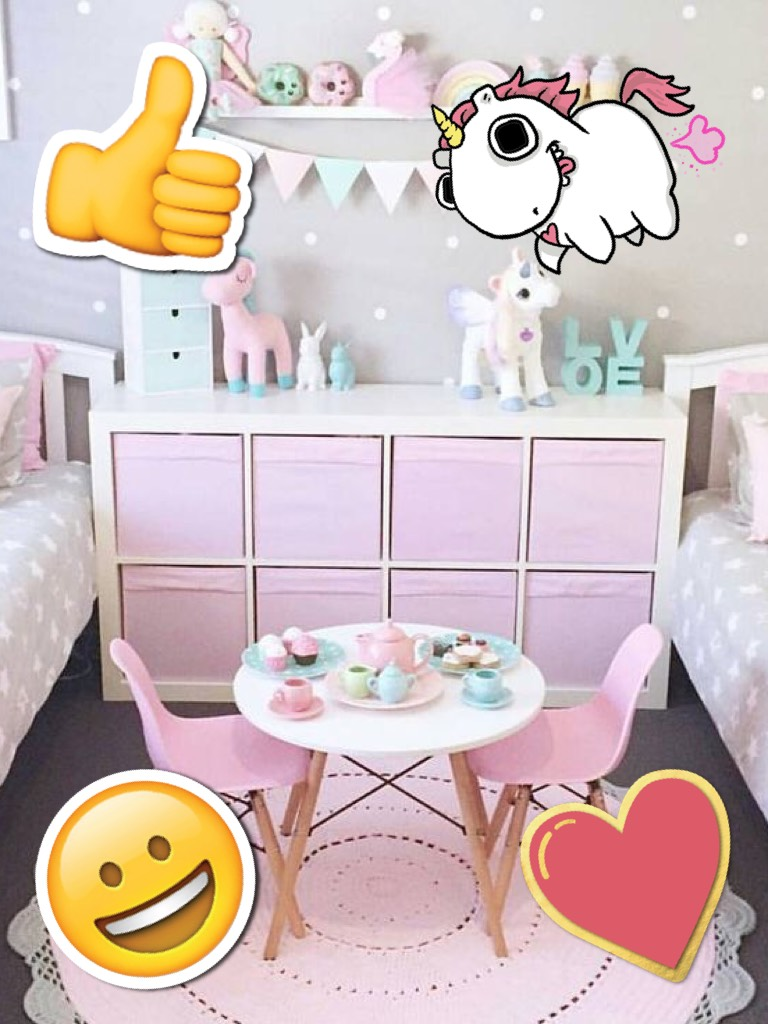 Unicorn room!🦄