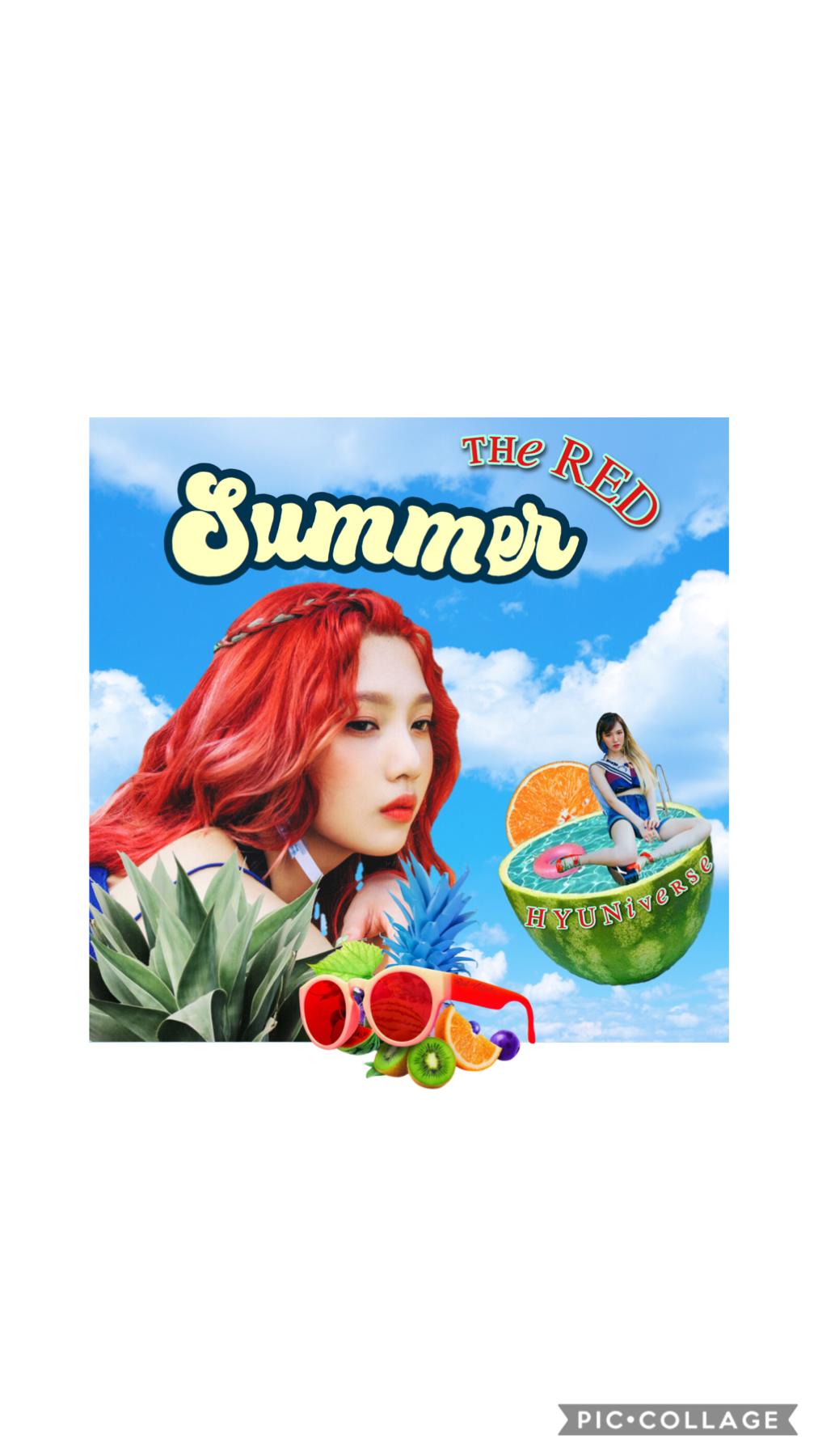 red summer ♡