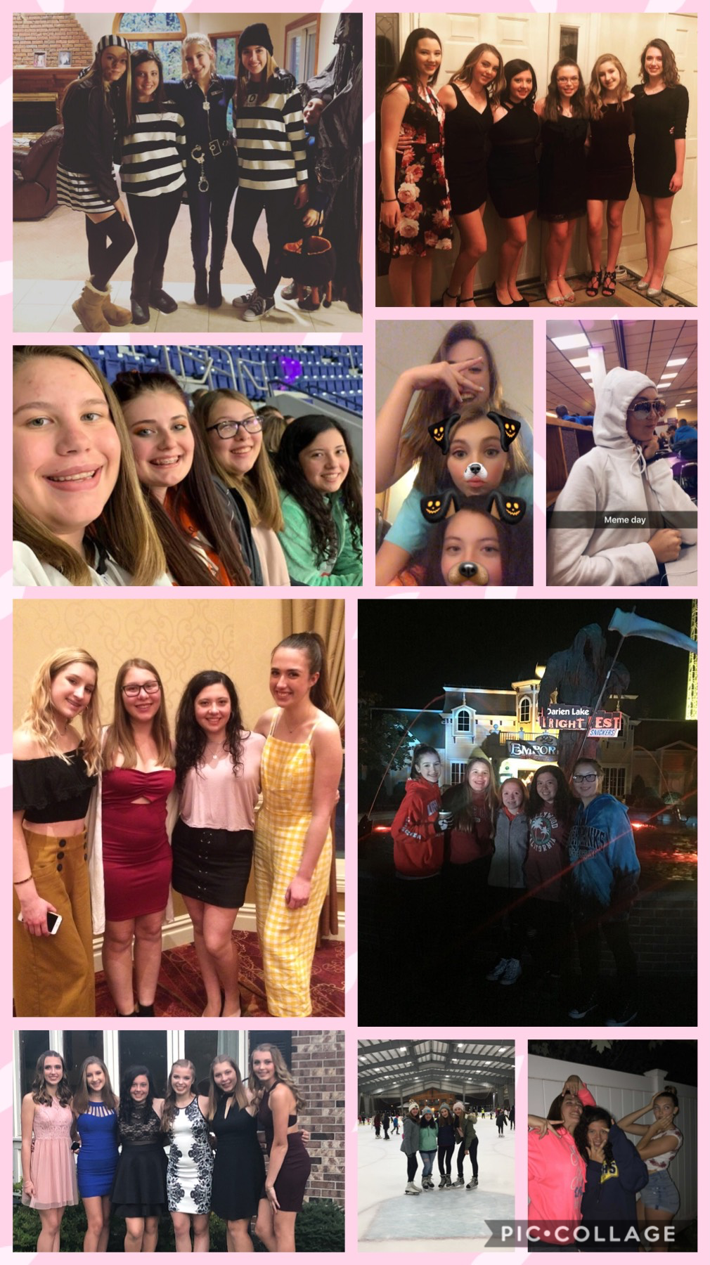 It's so hard to believe that freshman year is already coming to an end. It seems like it was just yesterday we were promising each other not to leave💕I love you all❤️ Olivia, Kennedy, Andrea, Miranda and Madeline