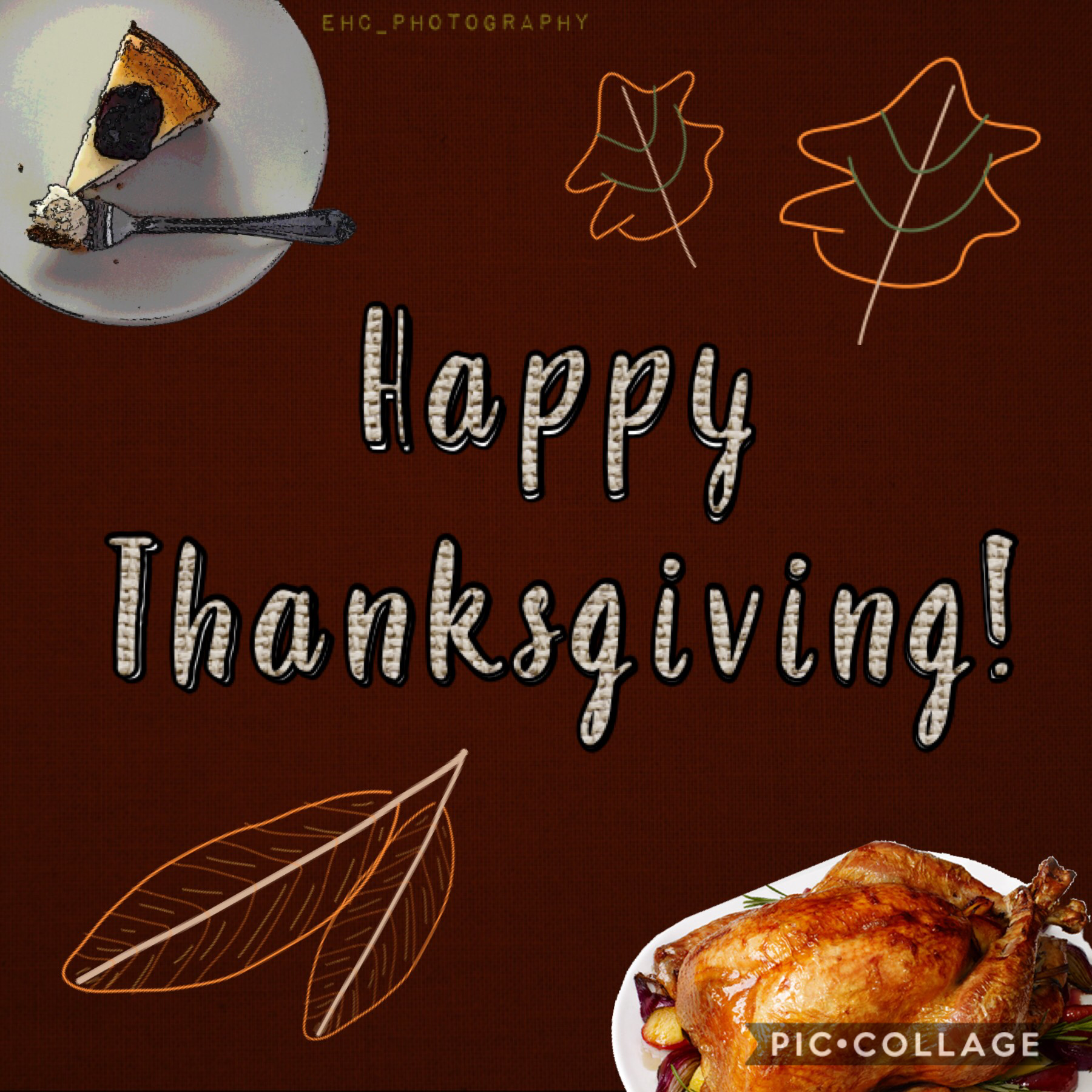 Again, happy belated Thanksgiving! 🦃 🍽 🙏🏻 🥧 🍁 If anyone was wondering the pie was 🍒 , I didn't make it homemade tho. 😝 What did you guys do this year? 🧐 I'm busy so idk when I can post. 📆 (Had to repost this.)