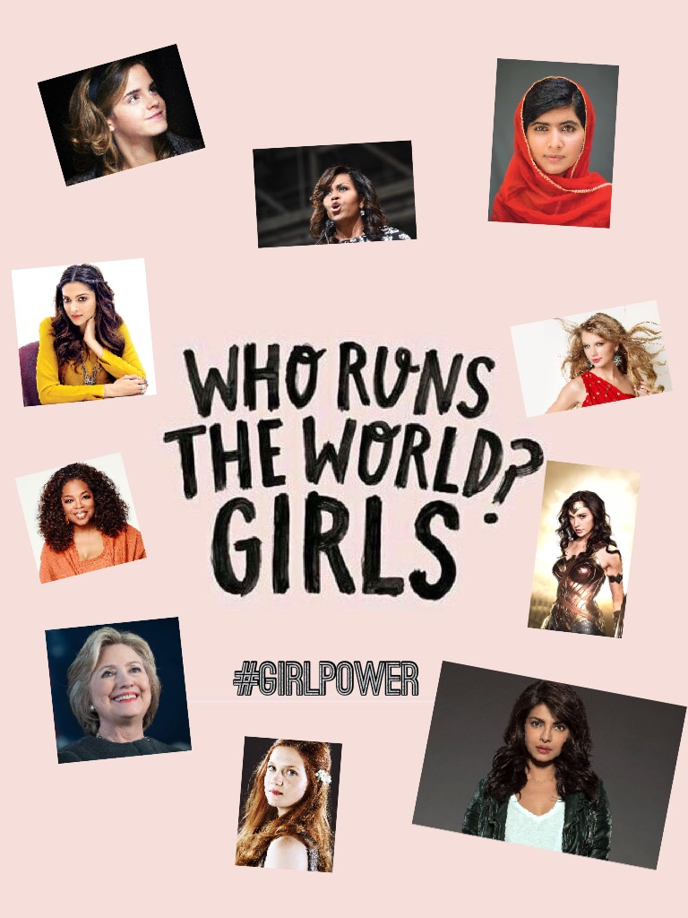 #GirlPower (Click Me!)  Who do YOU think is the most influential woman? Comment you pick!
