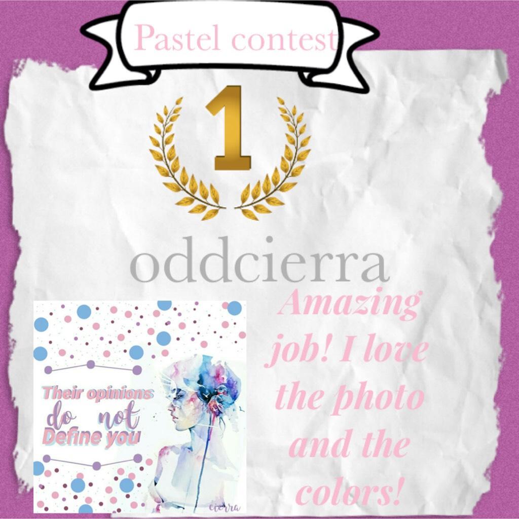 🥇oddcierra🥇 Congrats! Comment ideas for prizes!