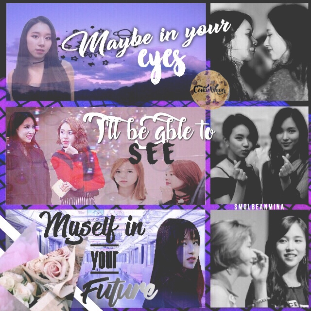 • MICHAENG!! 💜 (tap) • So if any of you out there are Onces. You'll know what ship this is. Check out my Stan account on Twitter @SmolBeanMina