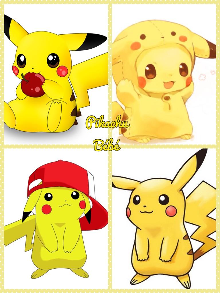 Pikachu Bébé