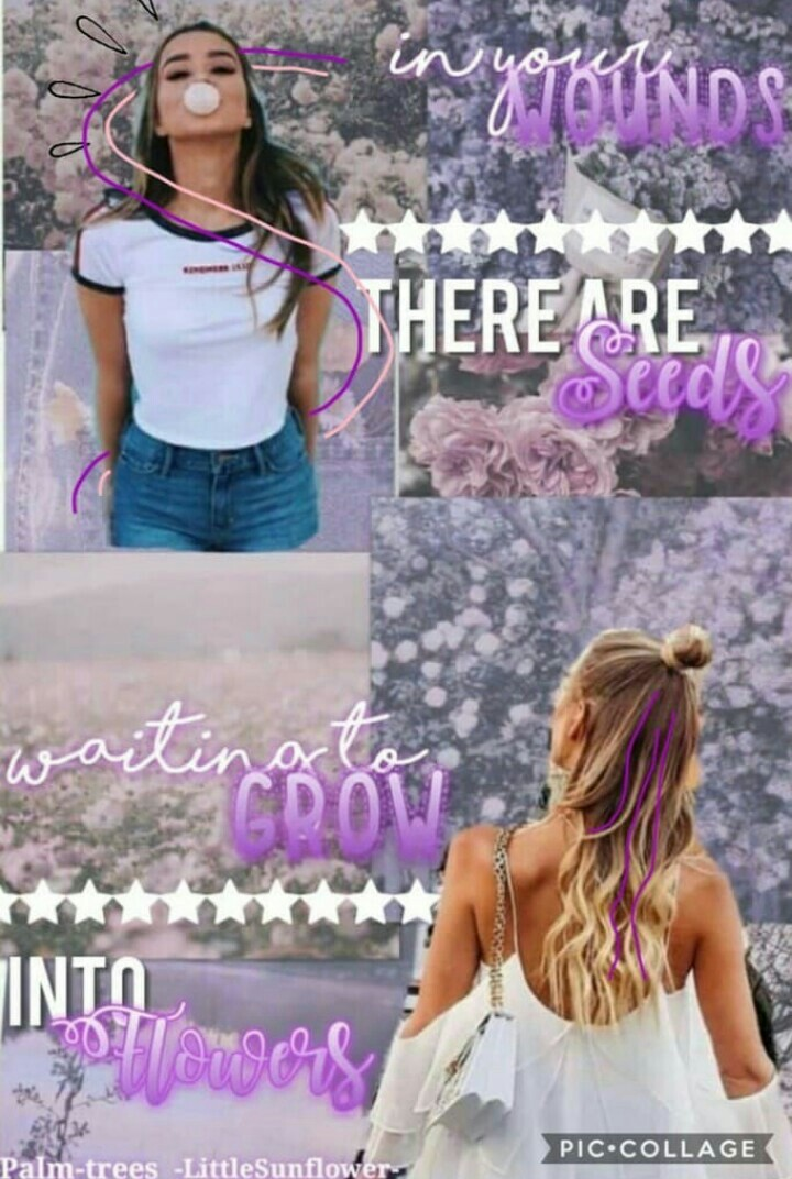 Tap  Collab with the beautiful @-LittleSunflower-  She did the background quote and the accessories and i did the font!  lyasm x
