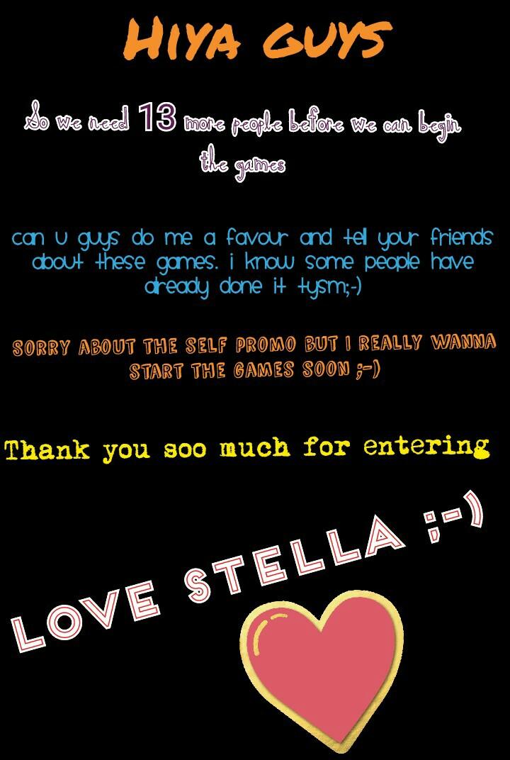 Love Stella ;-)