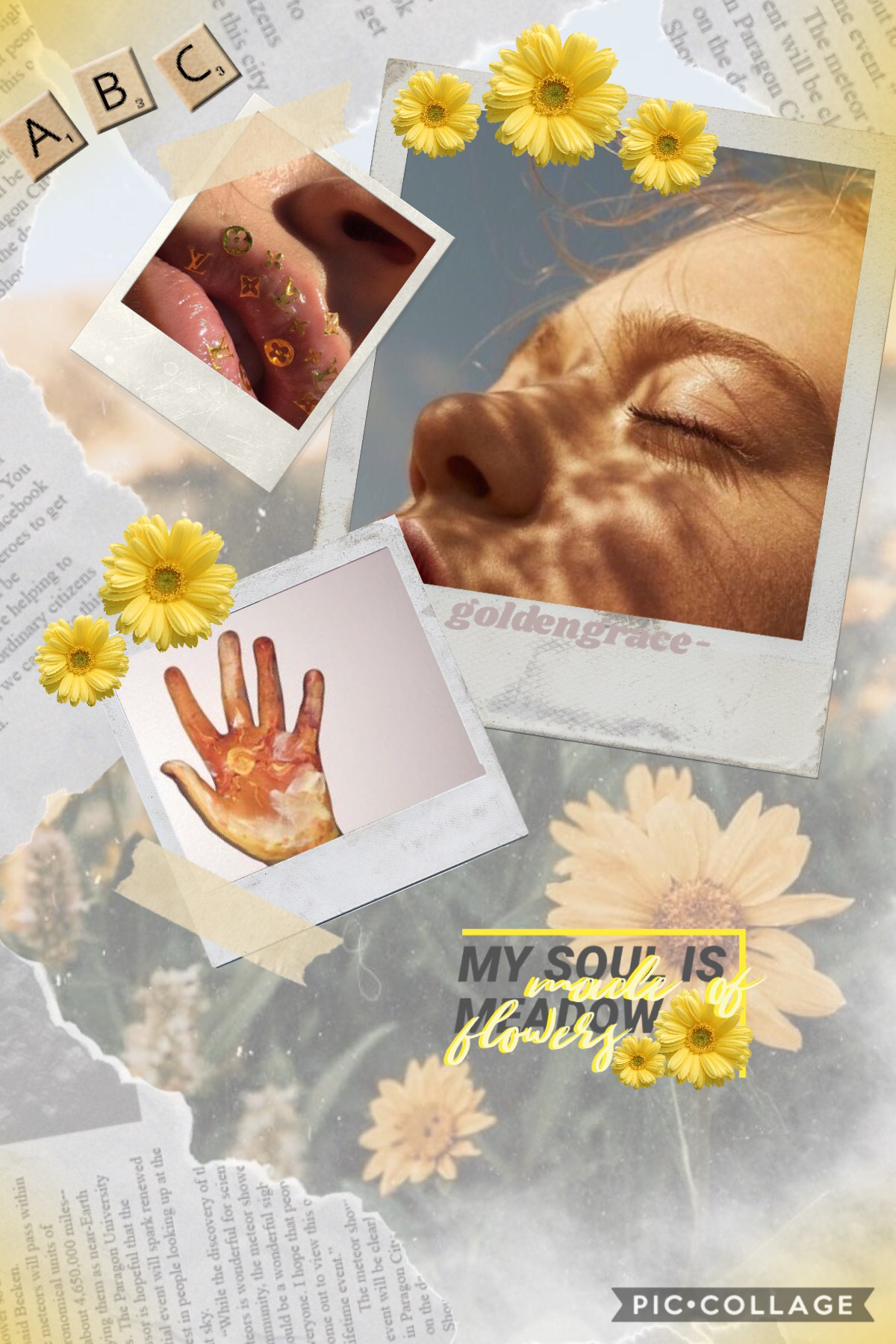 🌼TAP🌼 Thank you for all the supportive comments UwU ✨Inspired by @Triplet_Klf✨ Love how this turned out yayeet Any suggestions for collages I should recreate?