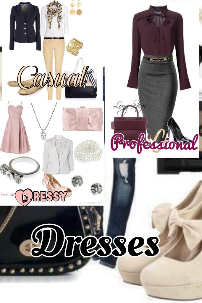 Dresses-Which one do u like❤️💗