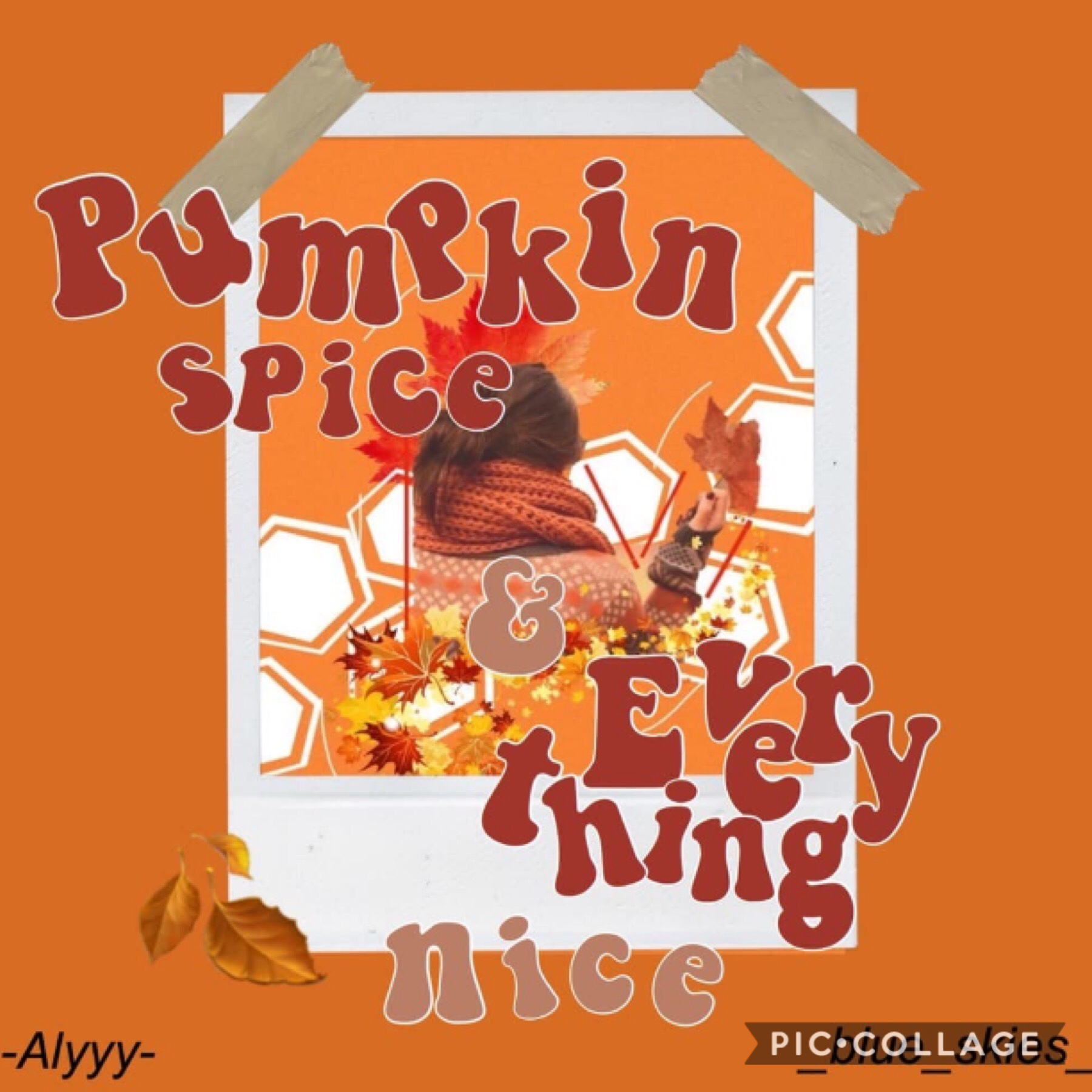 Collab with the beautiful...  Alyyy! She did the text and I did the background. Go follow her now! x Gotta love doing autumn edits when it's not even autumn for me 🍂