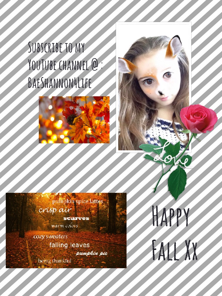 Happy Fall Xx