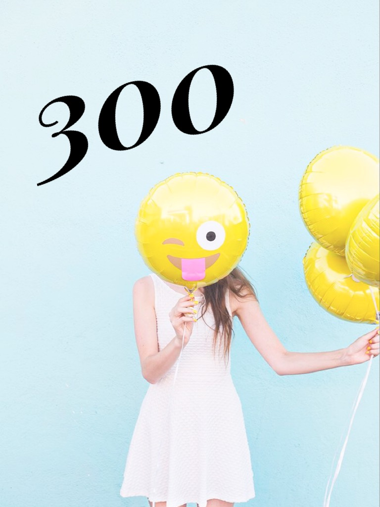Thank you guys so much for sticking with me all this time!!! Now let's get to 400 to spread happiness!!!!