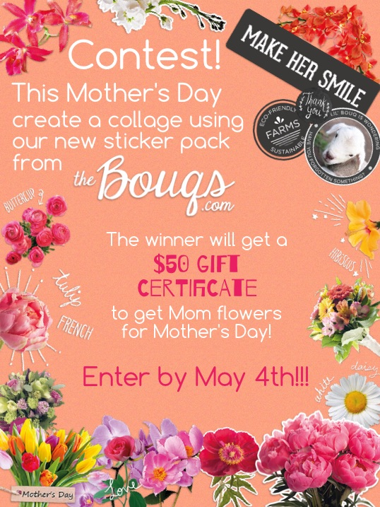 Mother's Day Contest! Stickers from TheBouqs.com! 💐