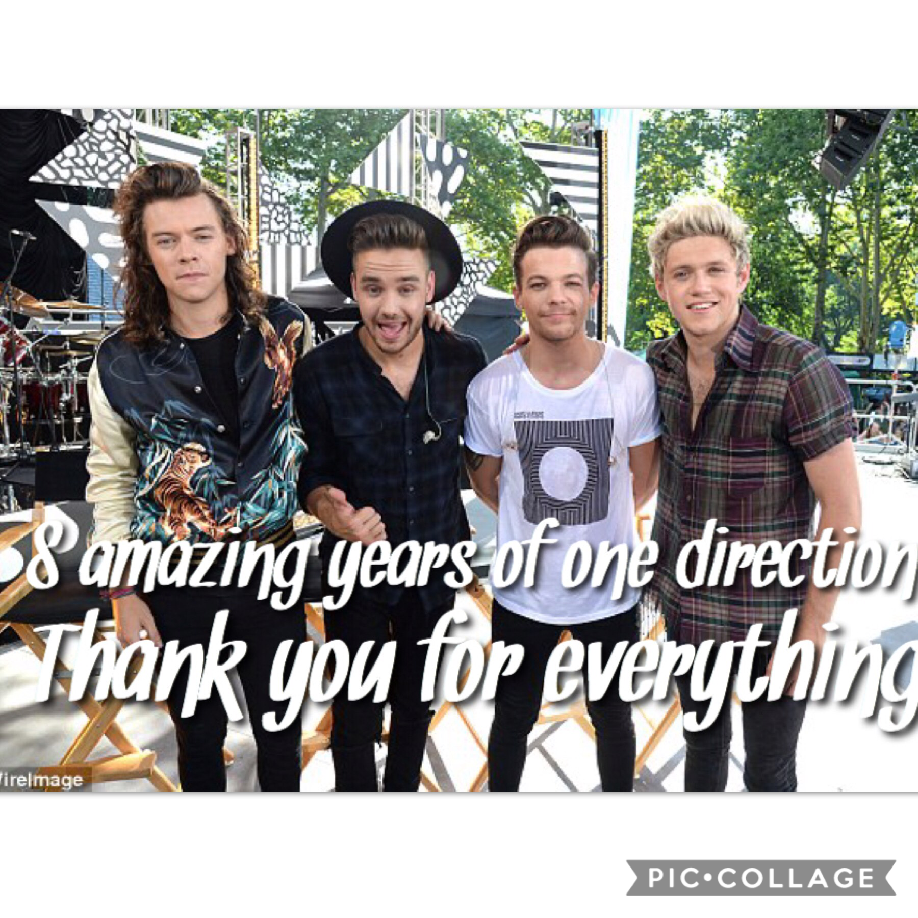 8 beautiful years of joy and drama and love! Thank you to our boys fir everything ! You made my life better
