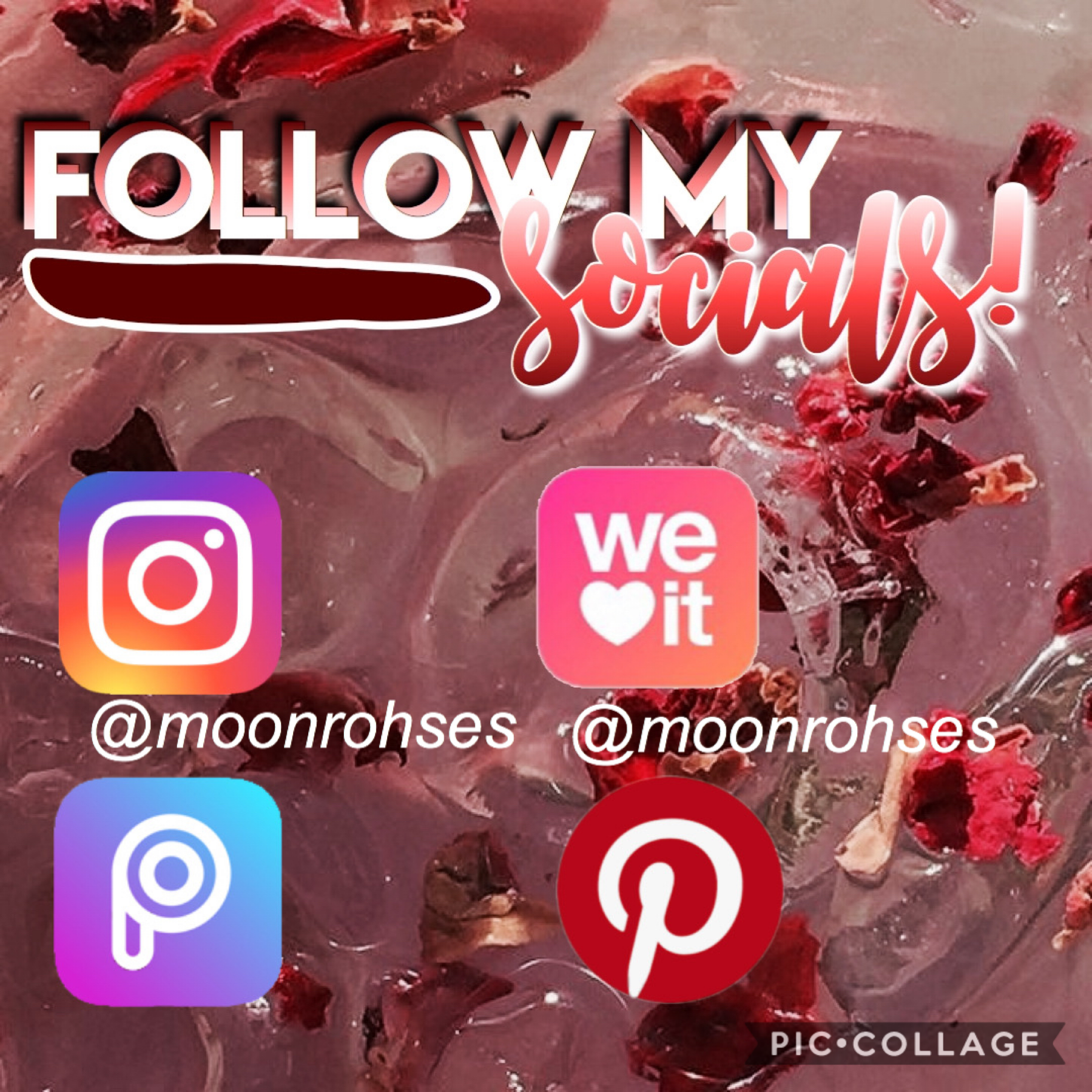 🧨 t a p 🧨  Yes, all my socials are @moonrohses so make sure to go follow!!