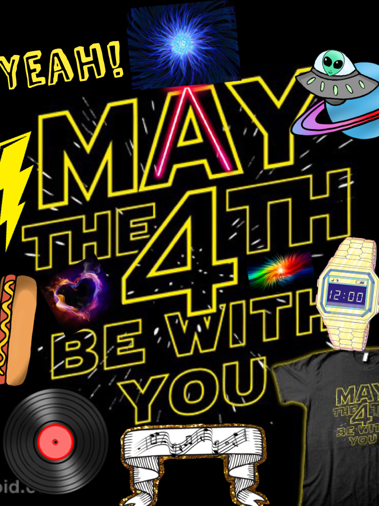 4th be with you