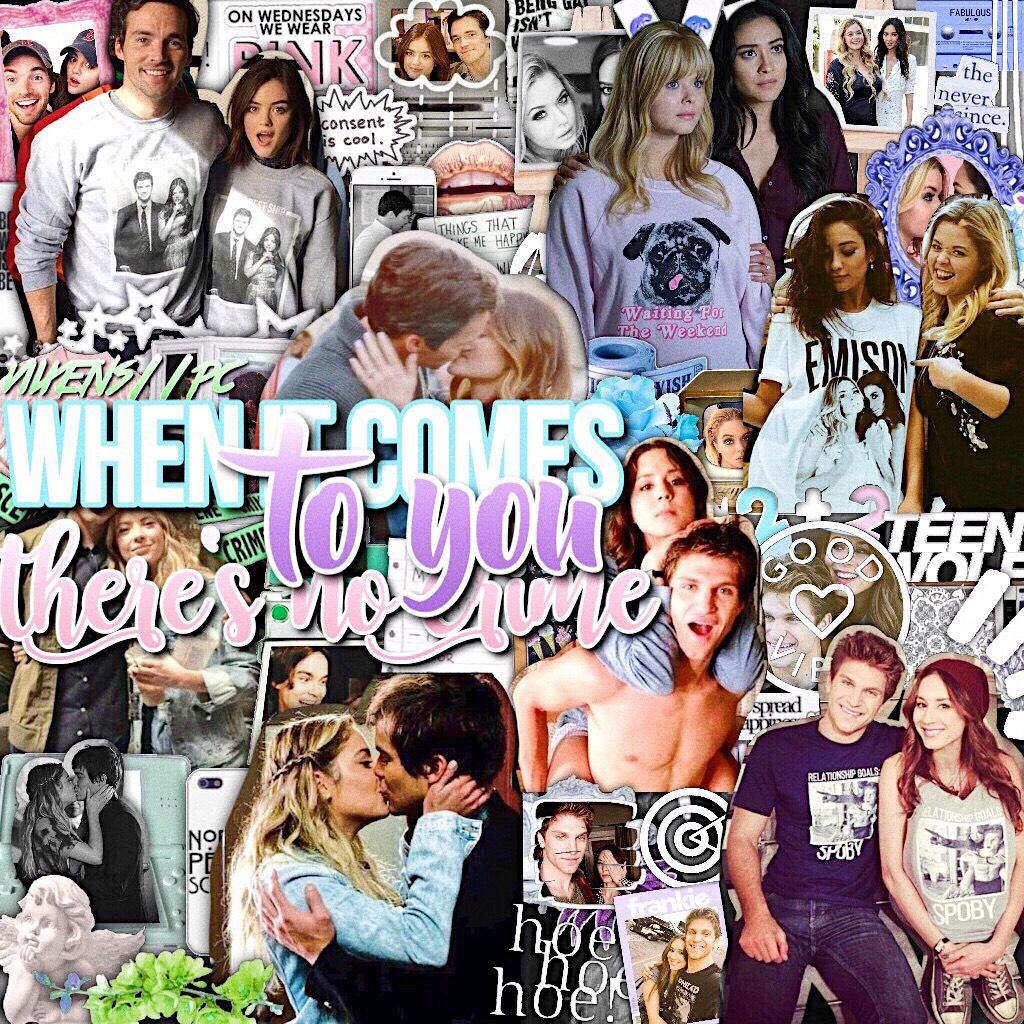 SHIPSSS! the 4 main pll ships credit to cooperfun11_tutorials for some overlays hope you like ♥️