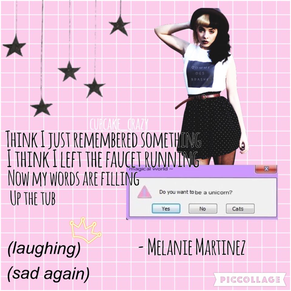 anyone else love melanie martinez?💓