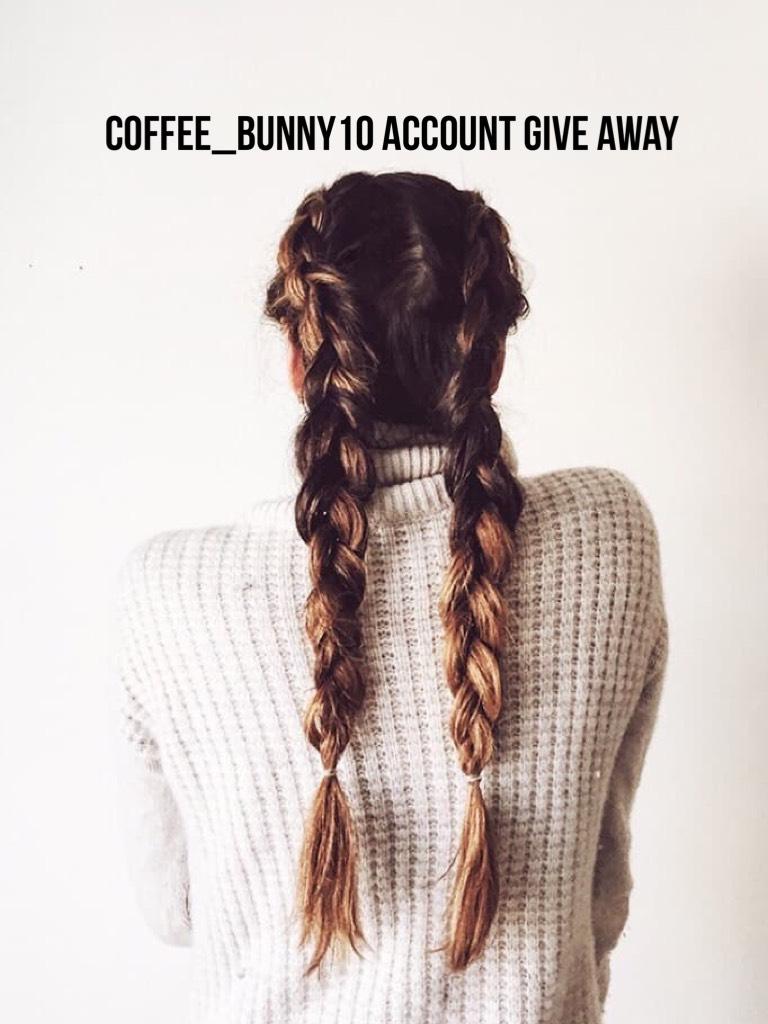 Coffee_bunny10 account give away