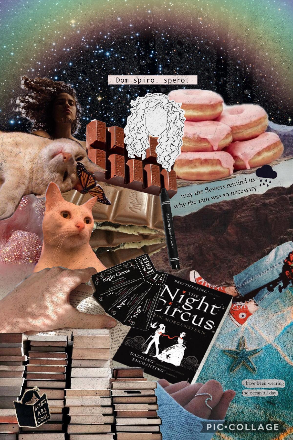 collage inspired by my online bestie, katka✨💕