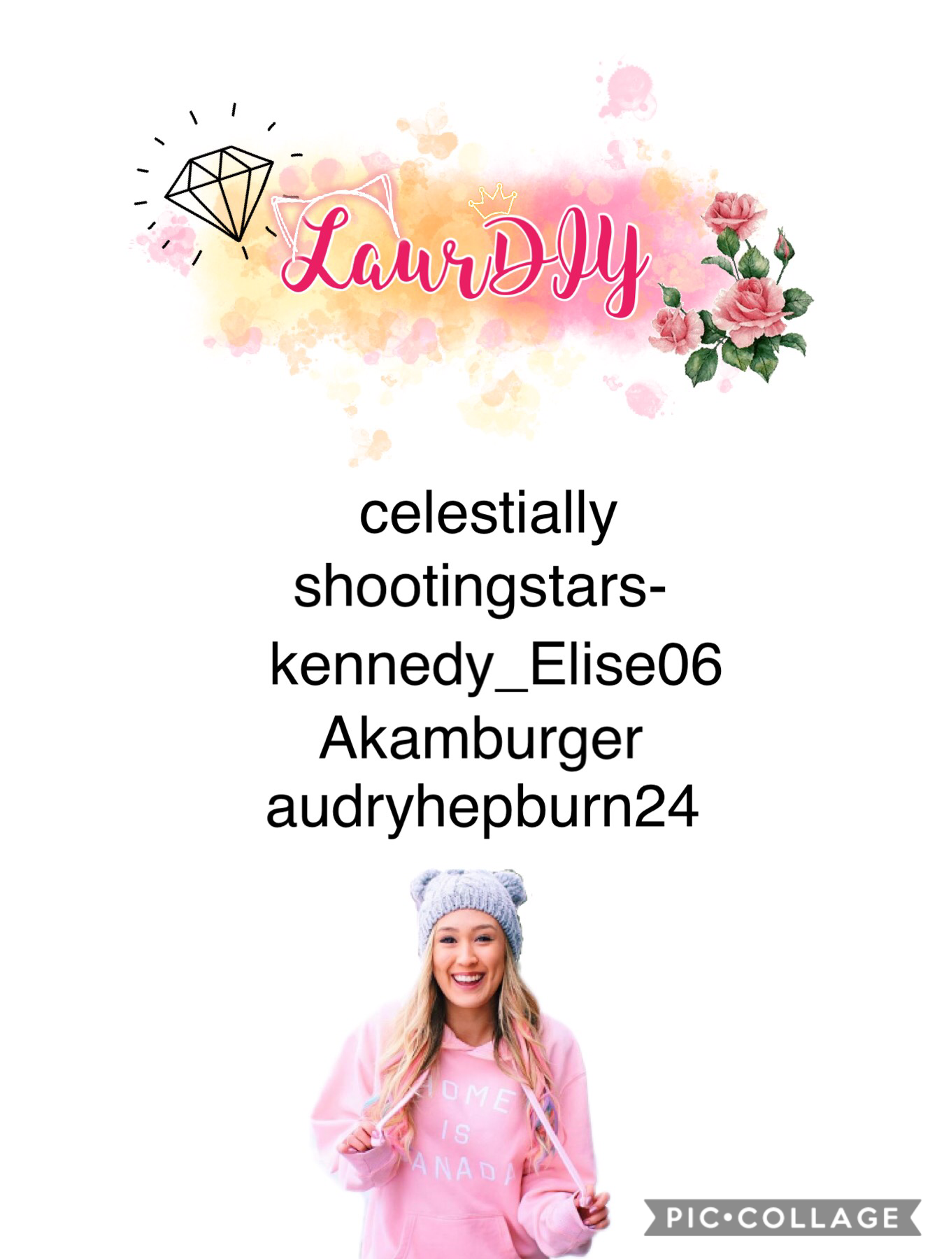 Team LaurDIY!!!!! Please let me know if I spelled your username incorrectly. Thanks!