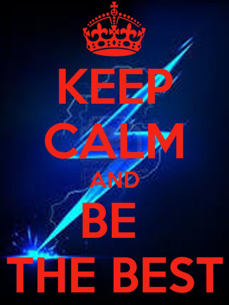 Try to be the best everyday