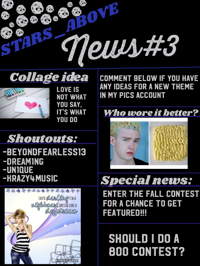 ✉️tap✉️ My third news!!!!! Running out of inspiration so I decided to make another one😂