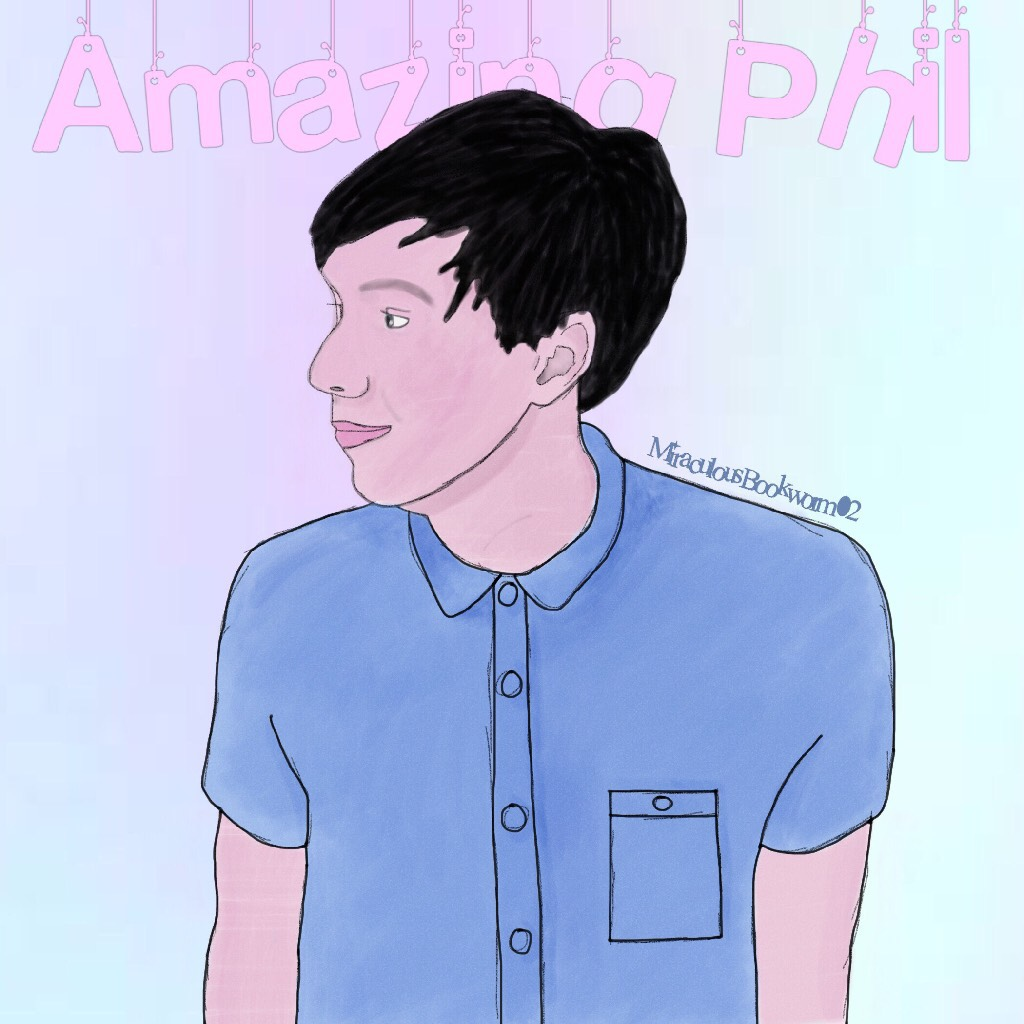AmazingPhil digital art (I honestly can't believe I drew this. I'm so proud of it!)