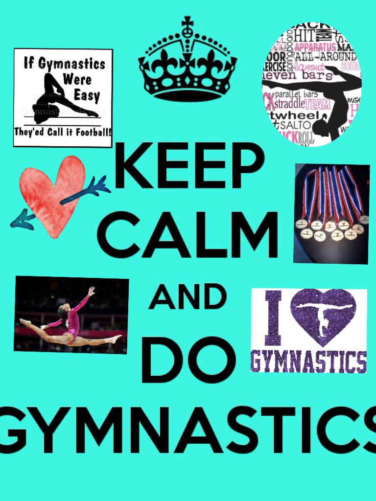 I love gymnastics!💖
