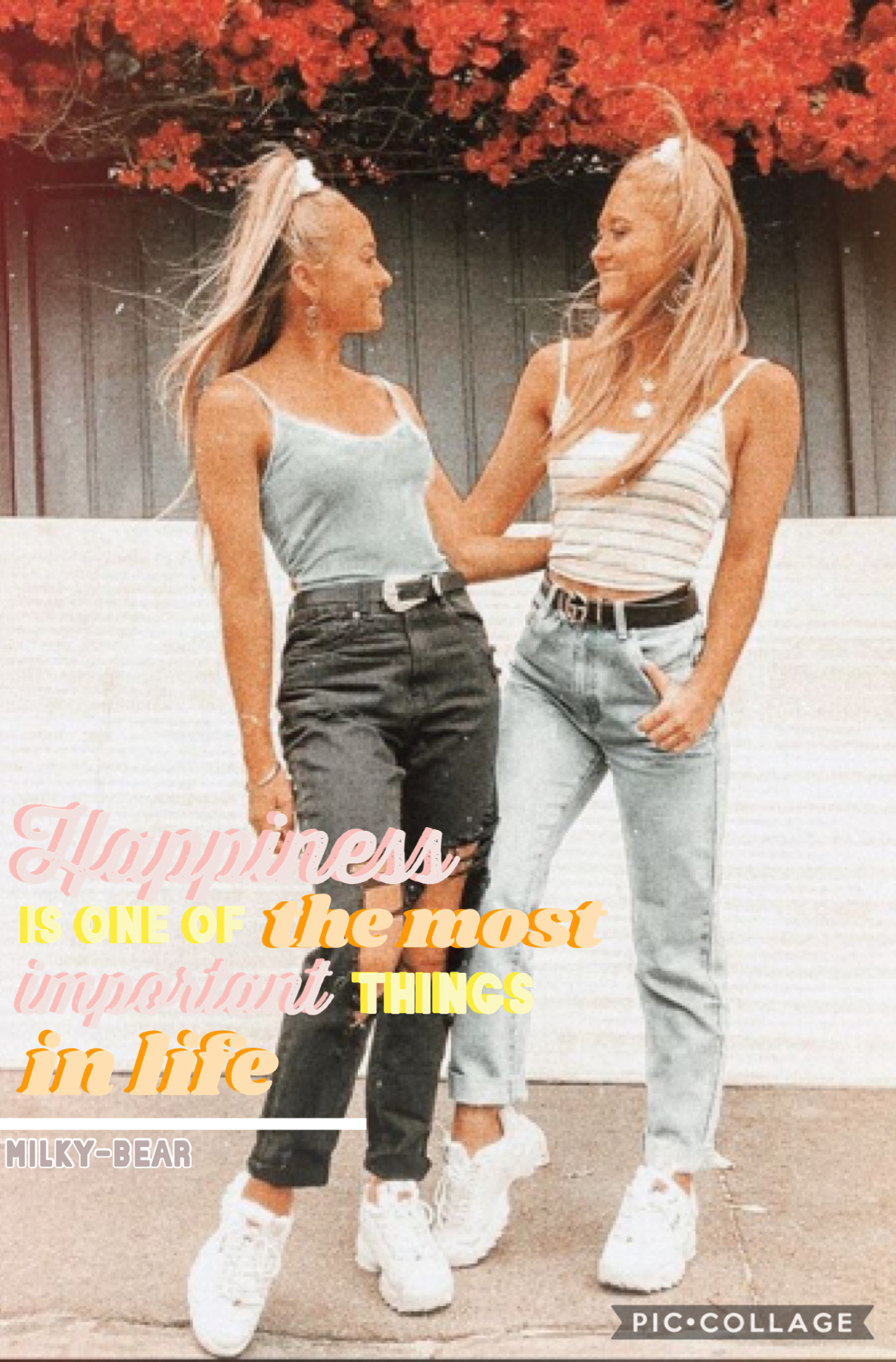 🤍T.A.P🤍 Absolutely love these amazing girls so nice and amazing go follow them on tik tok and subscribe to them on YouTube there so amazing and have heaps of talents also thanks so much to Sarah ( dreaming-sky ) my bestie her collages are so amazing go hi