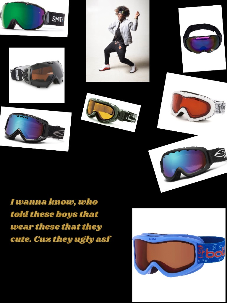 I wanna know, who told these boys that wear these that they cute. Cuz they ugly asf🤨🤨