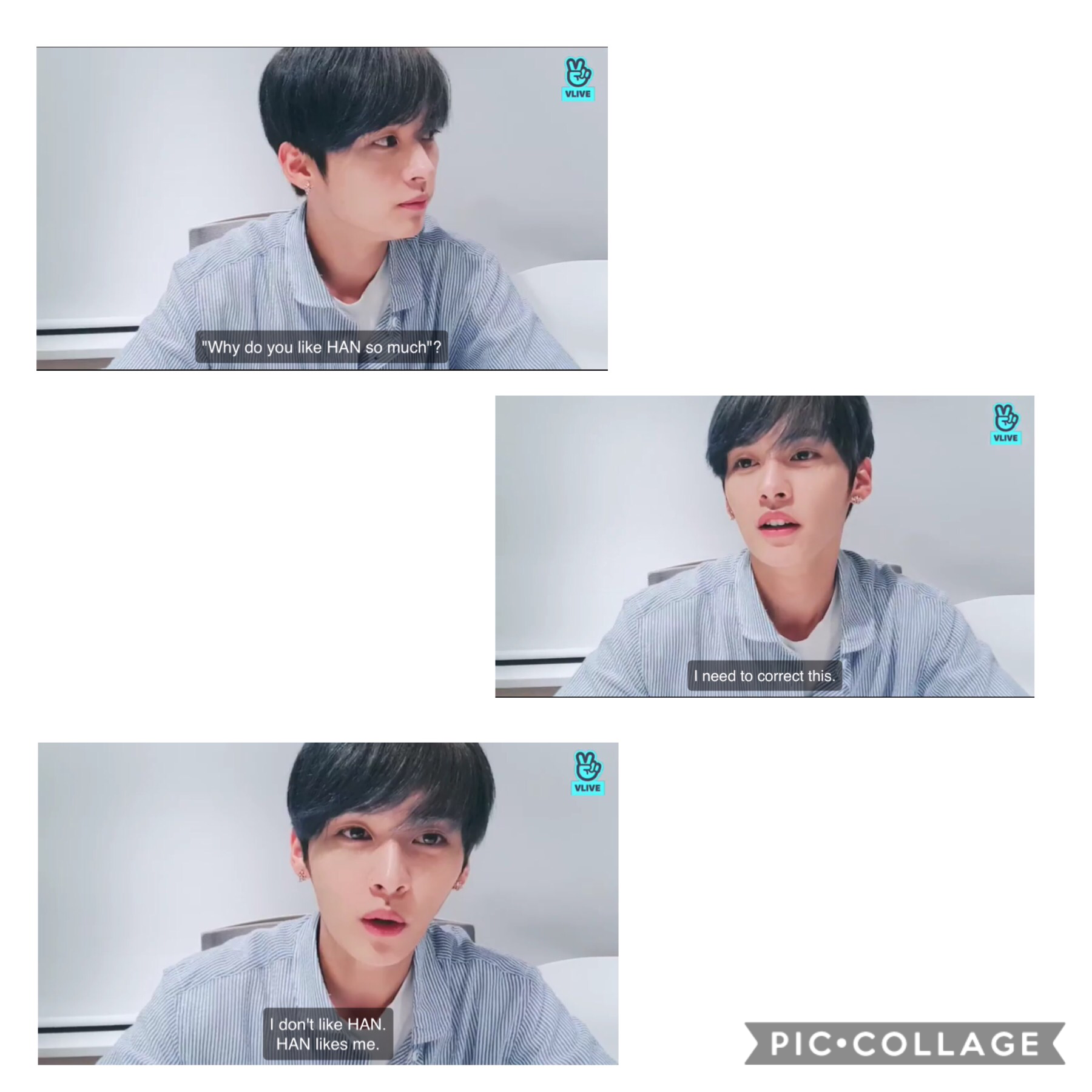 Jisung got exposed lol, Minho said next time he would bring something fun. Maybe it will be the Minsung Vlive that all Minsung shippers have been waiting for.