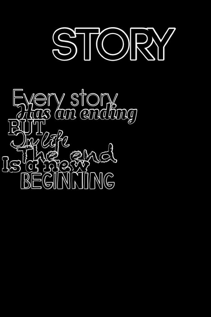 A story's ending is the part you never want to end