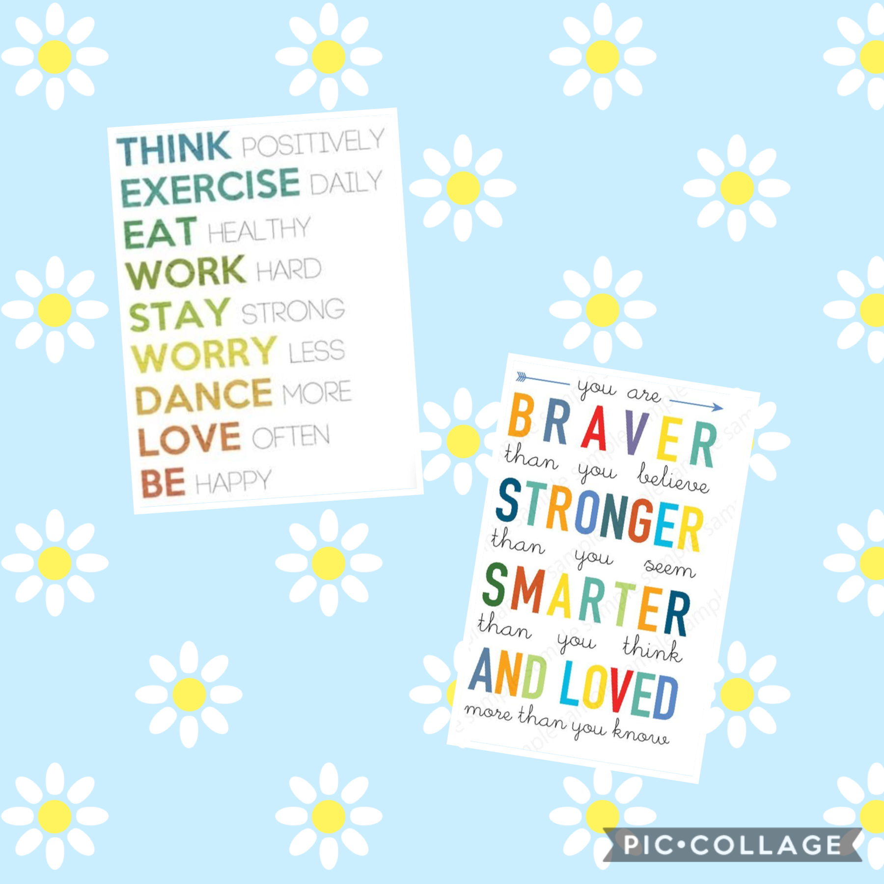 Tap          You are braver than you think smarter than you believe And stronger than you feel!Have a great day!❤️
