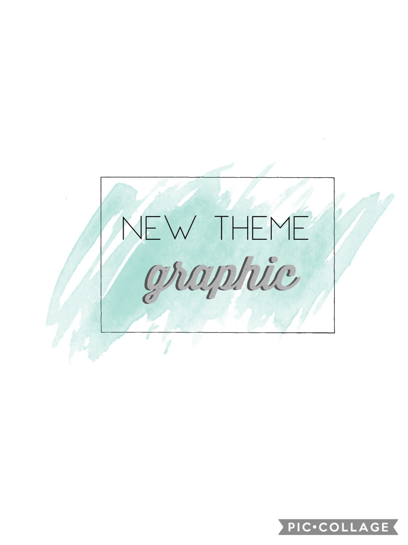 new theme - GRAPHIC EDITS YAY |  I've been wanting to try this out for a while after seeing it on instagram :)