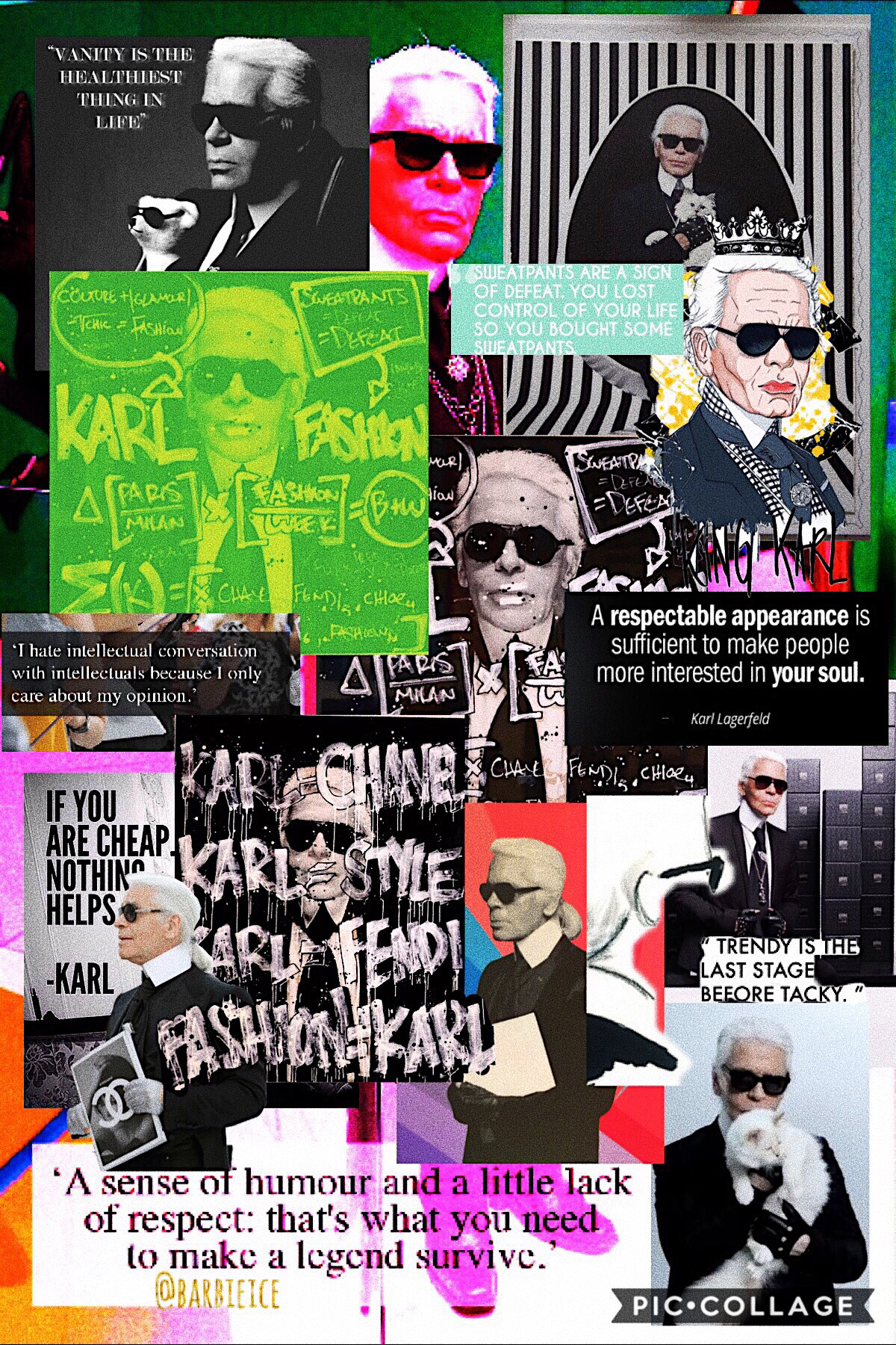 Rest In Peace to the fashion legend, Karl Lagerfeld🖤