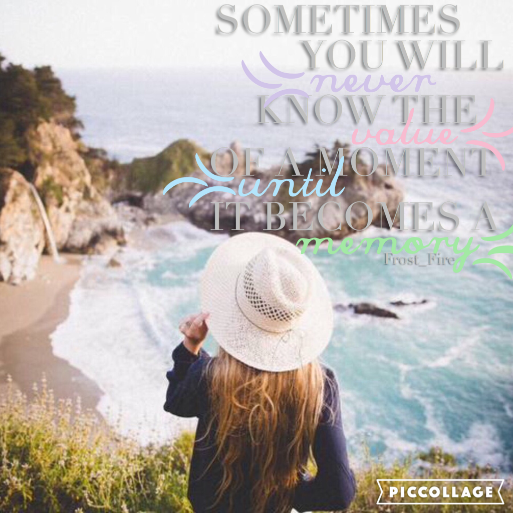 ✨ Inspired by Triplet-klf!! Love this quote!! ✨