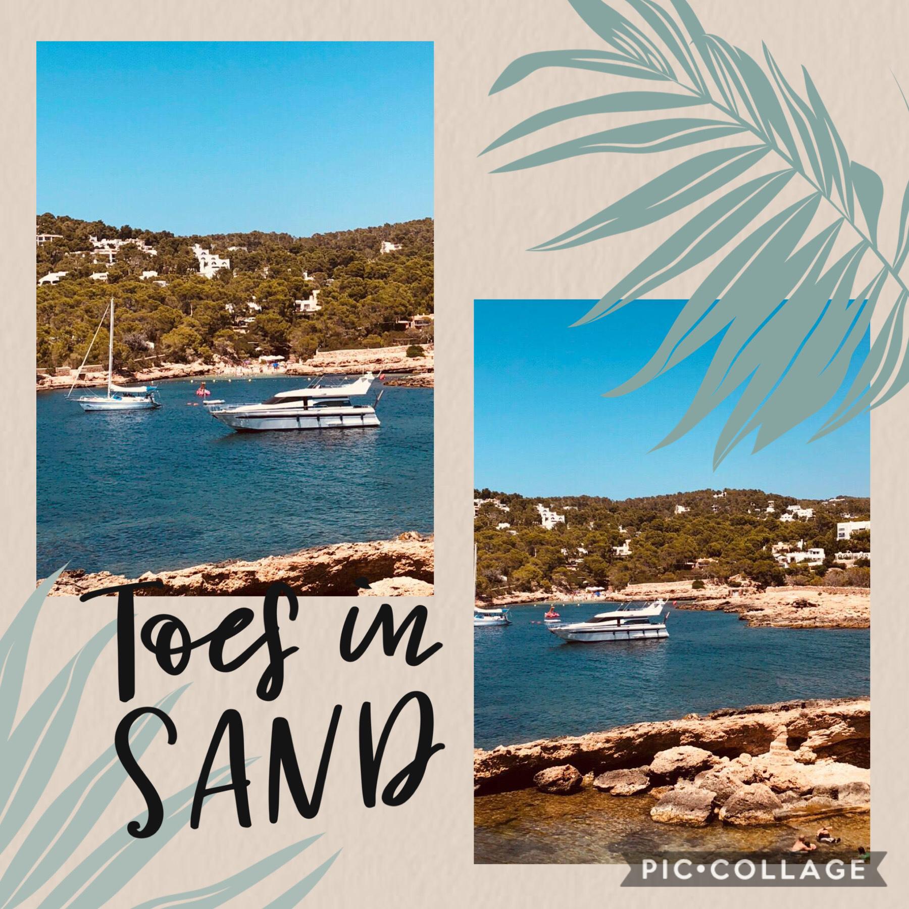 Ibiza cove🏝