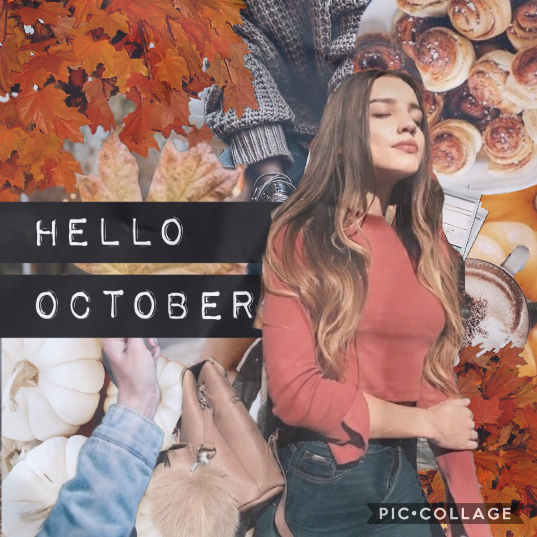 Happy October everyone!🍁 I really like how this turned out!🍂 How are y'all? Can you believe Christmas is in 2 months?! This year has flown by. I have some fall bg's for y'all on my extra account😊 QOTD: in comments